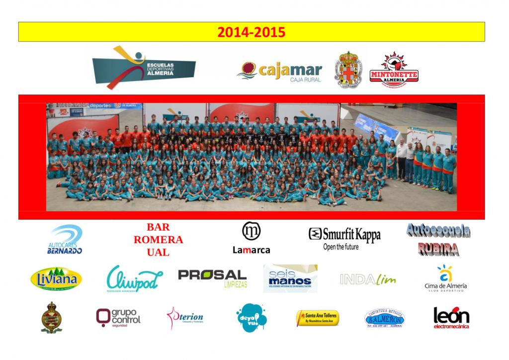 Resultados 2014 - 2015