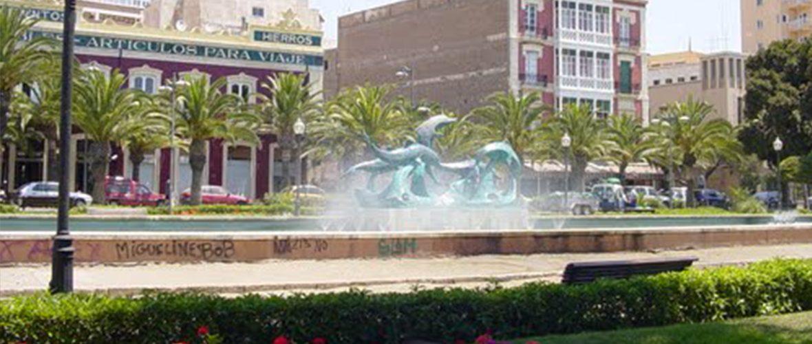 Parque Nicolás Salmerón - Almería.
