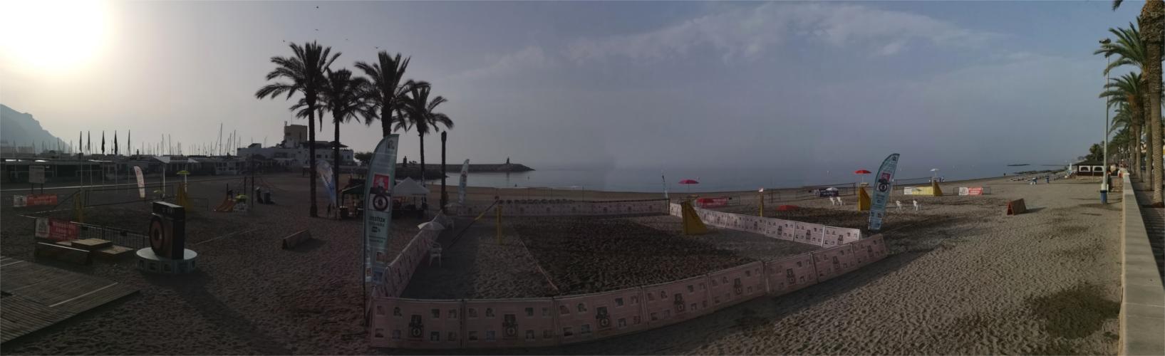 Torneo Voley Playa Fuji-Mintonette, Aguadulce.